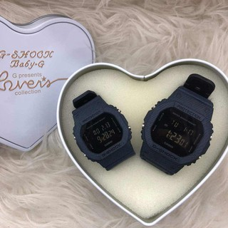 Couple Set Casio G SHOCK Digital Fashion Casual Watch For Couples Ready Stock 100% Mineral Glass New Design