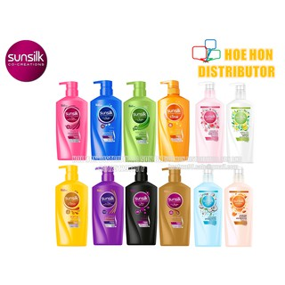 Sunsilk Shampoo 650ml 450ml Syampu Rambut Anti Dandruff Hairfall Damage Repair