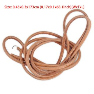 Leather Threadle Sewing Machine Belt (With Hook and Very Good Quality)
