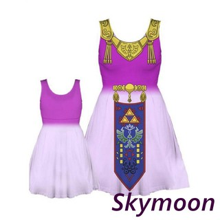 The Legend of Zelda Princess Zelda Dress Cosplay Party Set