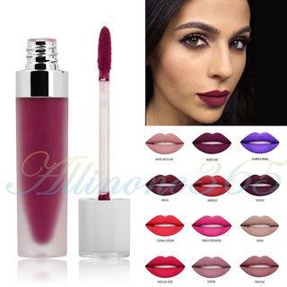 HOT!! 12 Colors Waterproof Matte Lip Gloss Liquid Matte Lipstick