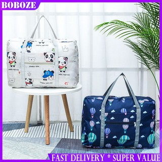 【READY STOCK】Travel Bag for Men and Women to Increase Luggage Bag Storage Bag