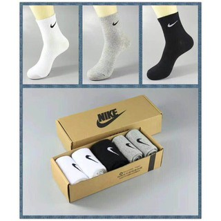 Nike Fashion  Men&Women  Casual Sport Business Fashion Breathable Sock[3 Pairs]