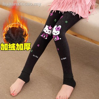 girls dress◊Children''s wear leggings brim of the girls on foot with additional hair thickening qiu dong girl pants chi
