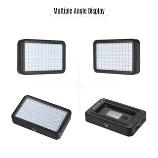 Andoer PAD96 LED Video Light 6000K Dimmable Fill Light Continuous Light Panel 7.