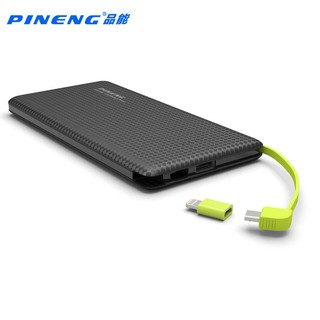 Original Pineng Pn 951 Ultra Slim Design Power Bank 10000mAh (BLACK