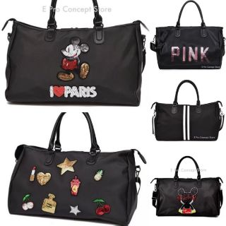 (Local Seller) Premium Quality Travel Bag Duffel Bag Bling Style Fashion Beg Bag