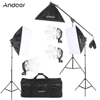 Andoer Studio Photo Video Lighting Kit