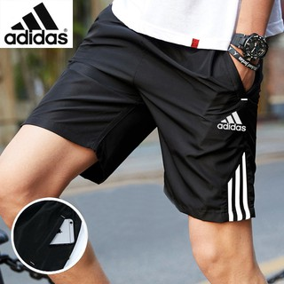 adidas shorts pants Men's Casual  outdoor fashion loose simple summer sport running Young quick-drying Ready stock