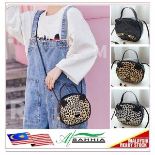 6G3 Al Sahhia Cat Cheetah Tote Bag Shoulder Handbag Hadiah Gift Beg Tangan