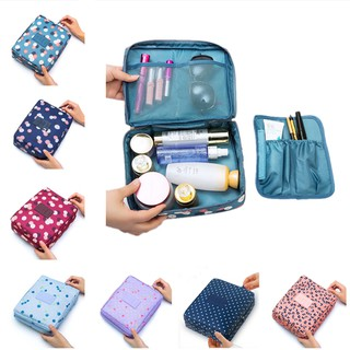 Make Up Cosmetic Bag Makeup Toiletries Case Pouch Makeup Bags Waterproof Zip Storage Organizer Travel Bag Beg MakeUp