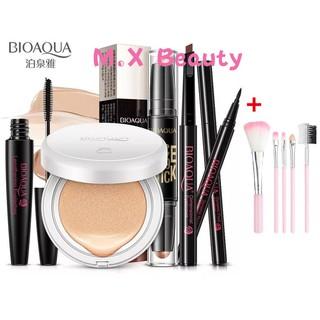 (Ready )Bioaqua 6 In 1 Eyebrow Mascara Eyeliner BB Cream Makeup Set Makeup Kit