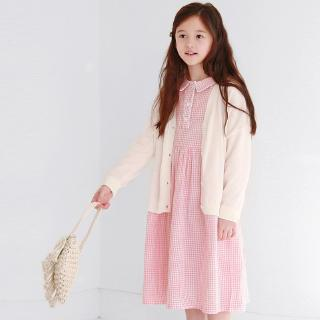 2020 Spring New Children Dress Girls Skirt Princess Dress Plaid Dress Op5513a