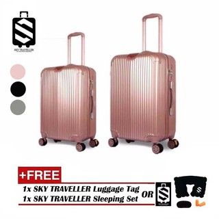 [22 & 26 INCH] SKY TRAVELLER SKY280 2-In-1 Premium Ultralight Luggage Set [22 & 26 INCH]