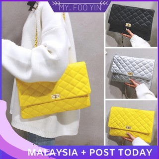 READY STOCK MYFOOYIN woman handbag shoulder sling bag leather bag