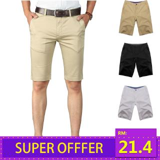 Men's Shorts Men's Five-point Pants Cotton Large Size Beach Pants Breeches 28-34