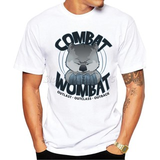 Fighting Wombat Design T Shirt Male Cool Printed Summer T-Shirt
