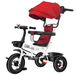 Urban Long Wa children tricycle bike 1-3-5 - year old large baby buggy stroller