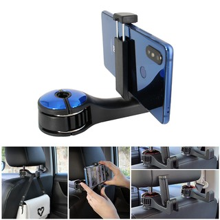 New Arrival!! 1 PCS Multi-function Car Hook with Phone Holder Car Accessories Car Seat Hooks