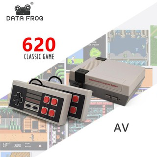 【JAE】Mini  AV 8Bit Retro Gaming Player Built-in 620 Game TV Handheld Game Console