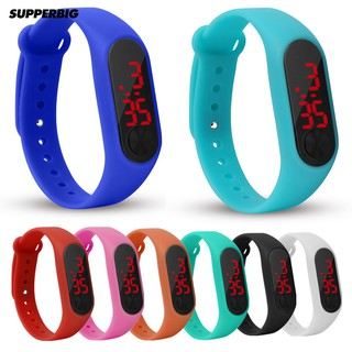 Supperbig Outdoor LED Number Display Outdoor Kids Watch Wristband