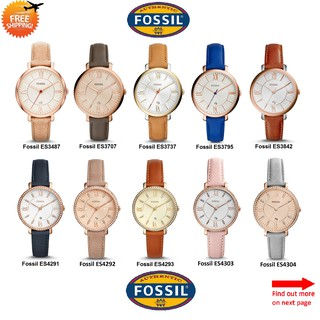 Fossil Women´s Chronograph/Classic Watch 100% ORIGINAL TWO Yrs FOSSIL Warranty