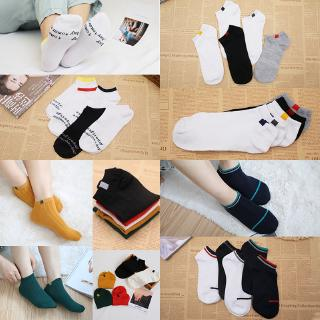 Socks men and women socks summer low top sweat absorption short tube sports socks tide four seasons two pole ship socks