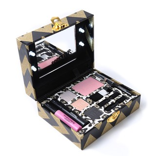 Miss Rose Make Up Gift Box Light Up Travel Makeup Set Eyeshadow with Instruction