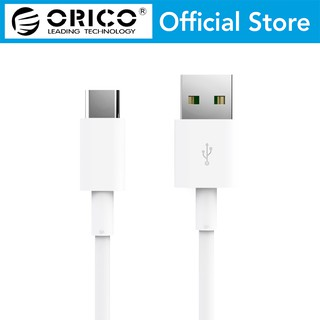 ORICO Type-C 5A Quick Charge and Sync Data Cable 0.5M - White