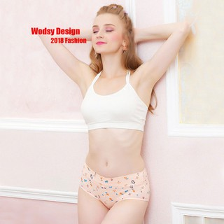 Hot Sale 4XPCS/Lot  Womens Underpants Cotton Girl Fashion Underwear