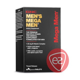 GNC MEN'S MEGA MEN TIMED-RELEASE VEGETARIAN TABLET 90S
