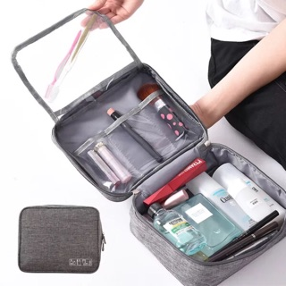 [Ready Stock] Korea Quality Cretive Make Up Toiletry Pouch Travel Storage Bag