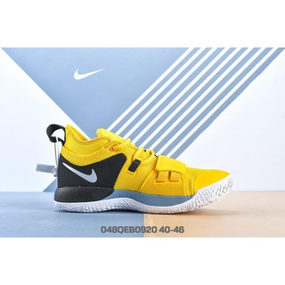Original_Nike_PG 2.5 EP Sports Shoes Men Basketball Shoes Outdoor Low Tops Non-slip Running Shoes Yellow