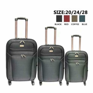 🆕cloth luggage 20inch 24inch 28inch ready stock good quality suitcase