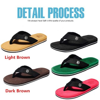 Ready stock Men's love Summer Fashion Slippers Popular Beach Sandals shoes