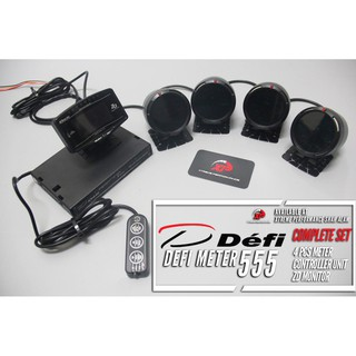 METER DEFI 555 FULL SET  WITH ZD MONITOR INCLUDE REMOTE CONTROLLER