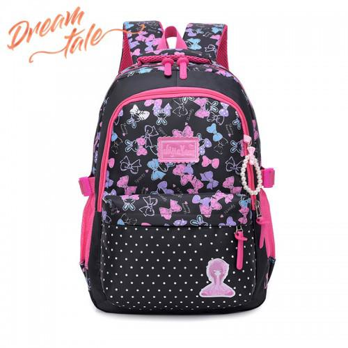 Dreamtale Kids Primary School Backpack Cute Sweet Riboon Design KID008