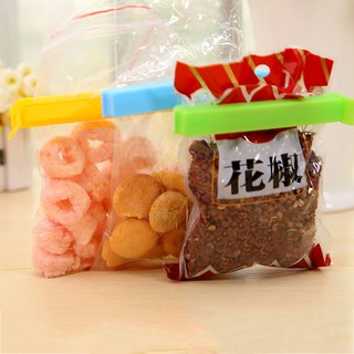 NL 5pcs Food Snack Storage Seal Sealing Bag Clips Clamp Tool Clip