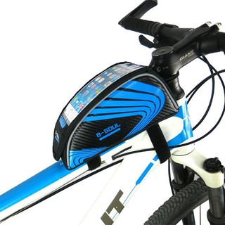 (kun Teng International) B - Soul Bike Phone Touch Front Tube Pack Saddle Pack