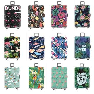 Ready Stock Flamingo Luggage Protector Cover Dust Proof Bag Trolley Case Elastic Bag