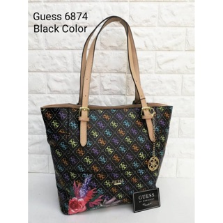 Floral Tote Bag with Charm (GE)