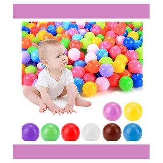 Kids Baby Soft Play Balls Toy For Ball Pit Swim Pit Ball Pool Colorful hhha