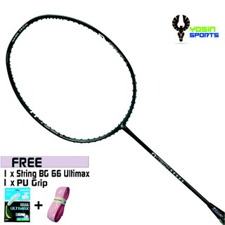 Impact N-tech 5 Star Racket Badminton (Include String & Grip)