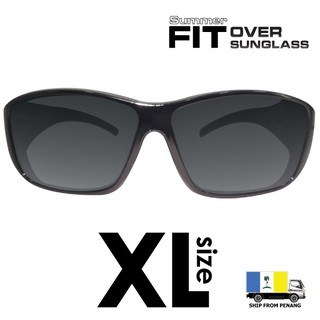 Summer Fit Over Polarized UV protection Oversized XL Size Sunglasses SM116