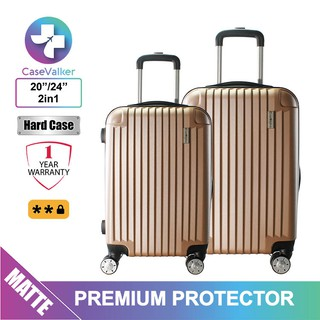 Case Valker ABS Premium Protector Luggage Set 2 in 1 (20