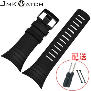 Adapted to Songtuo Suunto core Silicone watchband waterproof and corrosion resistant smart watch strap wholesale