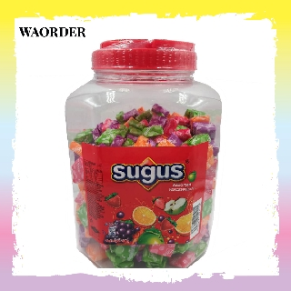 Sugus Assorted Flavoured Fruits Candies Sweet Snacks Groceries Bottle 1440g