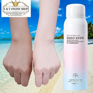 Whitening Sunscreen Spray UV Protection Lsolation