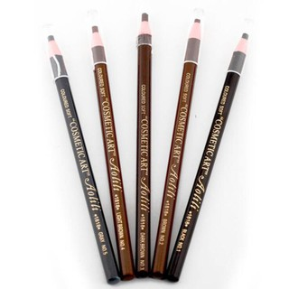 Waterproof Eyebrow Pencil Make Up Pull Pencil Subtle Stereoscopic Color 4 Color