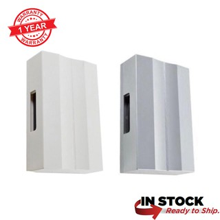 Mechanical Striking Wired Home Door Bell / Chimes Loceng Pintu 220-240v White/Silver DING DONG